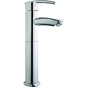 Wickes Versaille Tall Mono Basin Mixer Tap Chrome