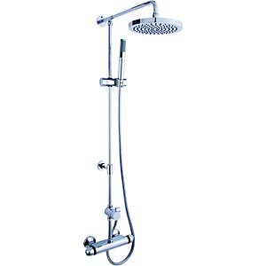 Wickes Rivage Thermostatic Mixer Shower Chrome
