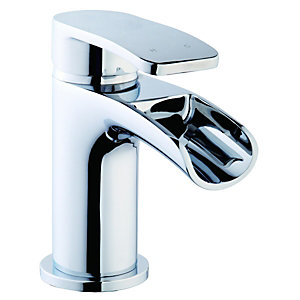 Wickes Niagra Mono Basin Mixer Tap Chrome