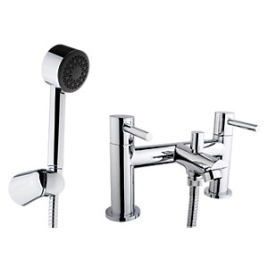 iflo Aura Bath Shower Mixer Tap Brass
