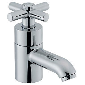 Wickes Napier Basin Taps Chrome
