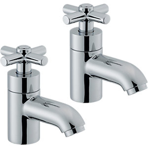 Wickes Napier Bath Taps Chrome