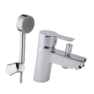 iflo Varese Bath Shower Mixer Tap Brass