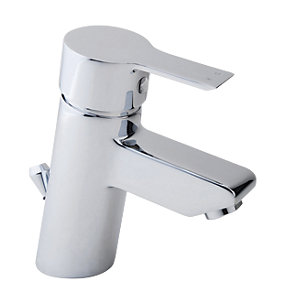 iflo Varese Monobloc Basin Mixer Tap Brass with Pop Up Waste