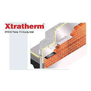 Xtratherm Cavity Wall Insulation Board Square Edge 60mm x 450mm x 1200mm