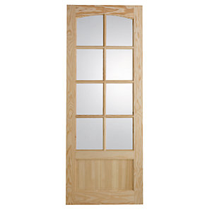 Wickes Newland Internal Glazed Door 9 Panel 1981x838mm