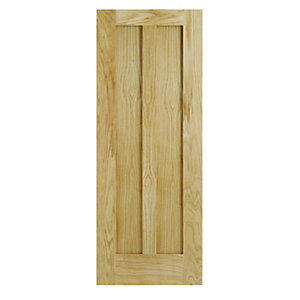 Wickes Oxford Internal Fire Door Oak Veneer 1981 x 686mm
