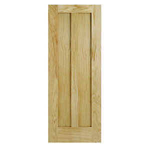 Wickes Hitchin Internal 2 Panel Oak Door 1981x762mm