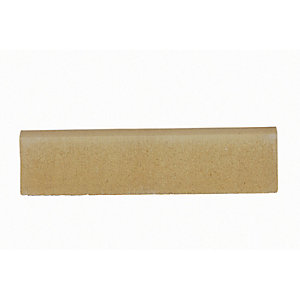 Marshalls Round Top Path Edging Buff 600 x 150mm