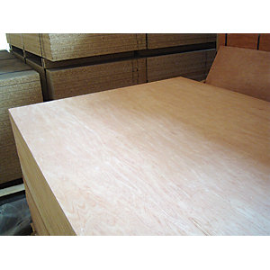 Hardwood Faced Plywood 12mm x 2440mm x 1220mm