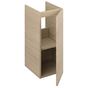 iflo Aliano Oak Base Unit with Pre-cut Service Void 300 x 380 mm