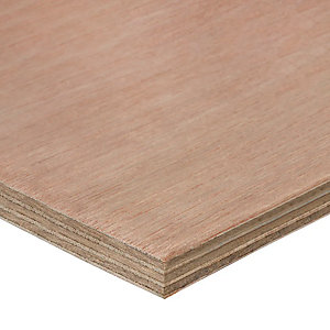 Plywood Hardwood Throughout 18mm x 2440mm x 1220mm