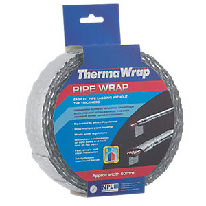 Thermawrap Spiral Wrap 50mm x 7.5m
