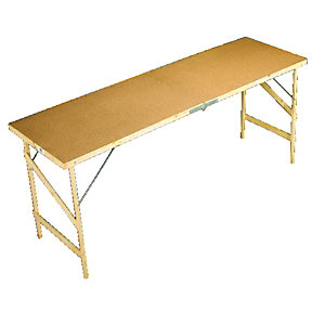 Wickes Hardboard Paste Table 1780x560mm