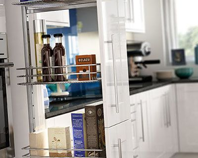 Atlanta White Gloss Kitchen & Atlanta White Gloss Kitchen | Wickes.co.uk Pezcame.Com