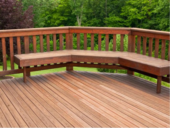 Ideas for decking for Garden decking layouts