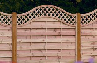 Fencing finishing
