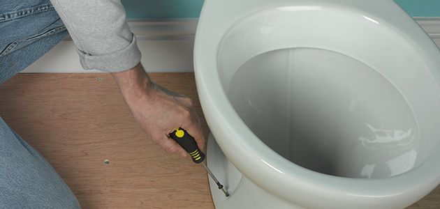 How to Fit a Toilet Wickescouk