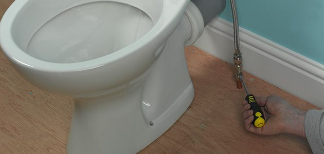how to connect toilet pan to floor waste pipe