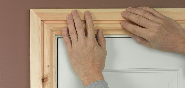 How to fit architrave and skirting for What is the trim around a door called