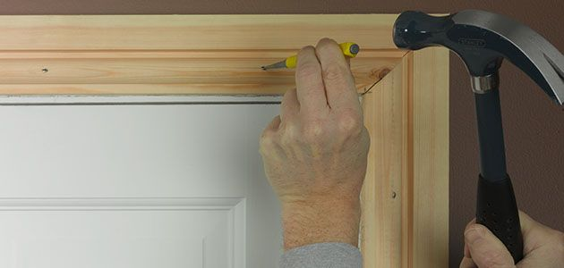 How to fit architrave and skirting for Door architrave
