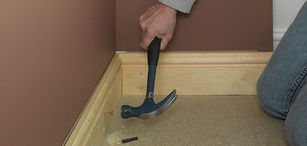 how to put a screw plug in the wall