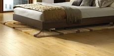 Guide showing how to lay real wood flooring
