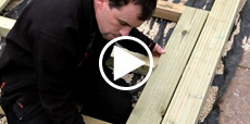 Video Guide showing how to lay decking