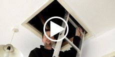 Video guide showing how to insulate a loft