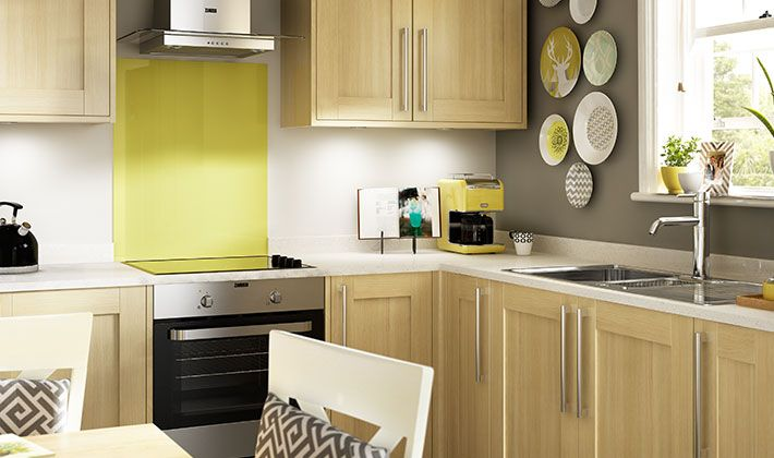 kendal oak kitchen wickes co uk