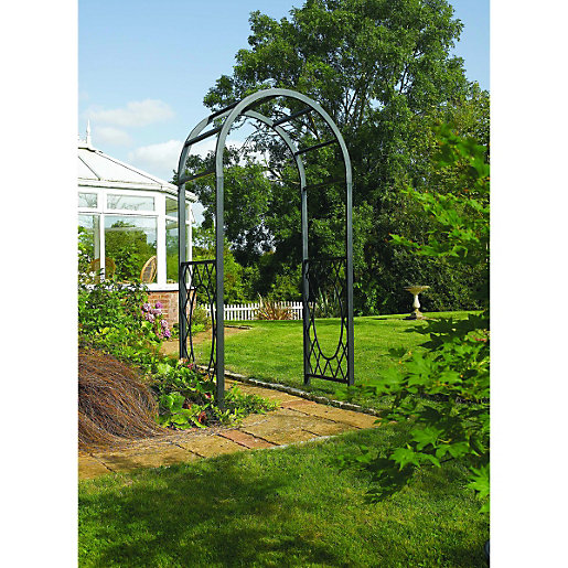 Arches Arbours Garden Sheds Greenhouses Wickescouk