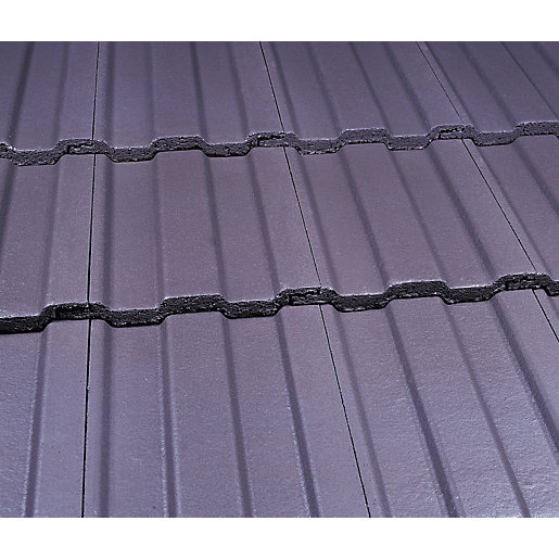 Marley Ludlow Major Roofing Tiles Smooth Grey Travis Perkins