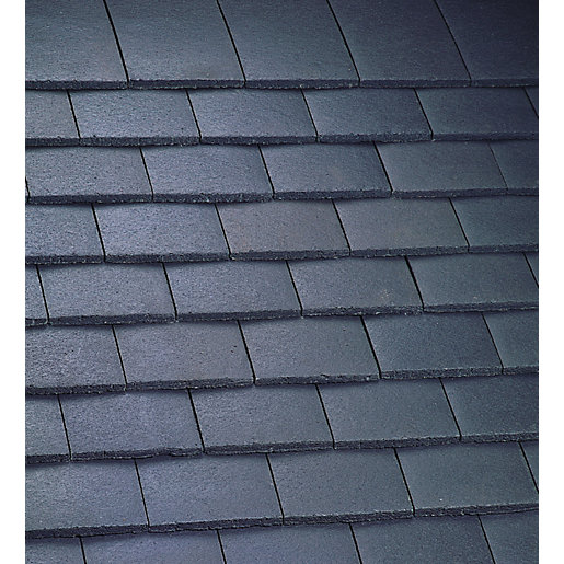 Marley Plain Roofing Tile Smooth Grey Travis Perkins