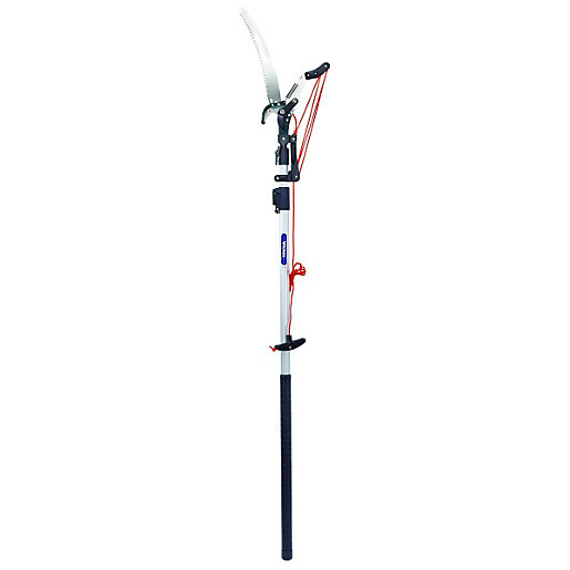 Wickes Telescopic Tree Pruner With 1 5 2 5m Reach Wickes