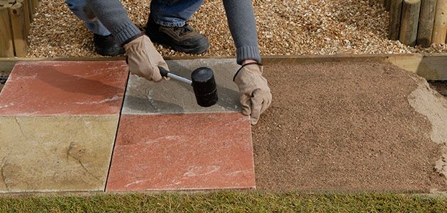 How To Lay A Garden Path Wickes Co Uk