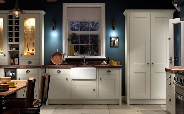Milton classic kitchen range for Wickes kitchen cabinets