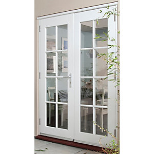 softwood 44mm georgian external french doors benchmarx On inward opening french doors