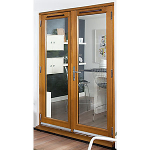 Softwood 44mm pattern 10 external french doors for Five foot french doors