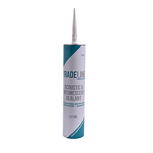 Tradeline 2 in 1 White Acoustic and Intumescent Sealant 310ml
