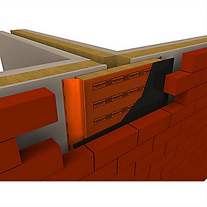 Firezero Fire and Acoustic Party Wall Damp Proof Course DPC 125mm x 1200mm