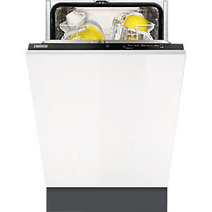 Zanussi 45cm Integrated Dishwasher ZDV12004FA