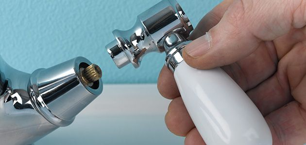 Changing A Washer On A Mixer Tap >> how to change a washer on a mixer tap in the bathroom