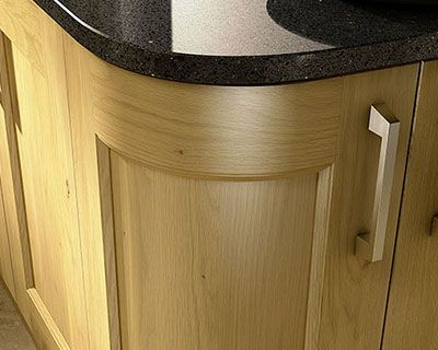 Wickes Curved Kitchen Units