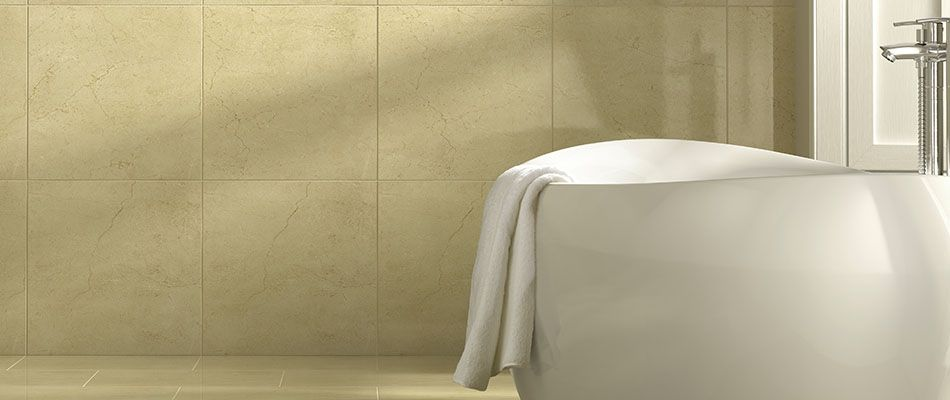 How to fit wall tiles for Wickes bathroom wallpaper