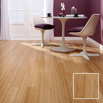 Vertical med bamboo solid wood flooring