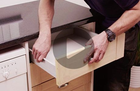 How to fix broken drawer