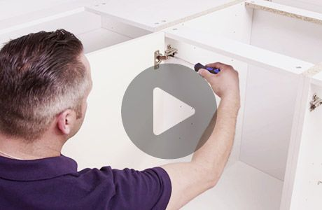 How to fit handles to doors and drawers