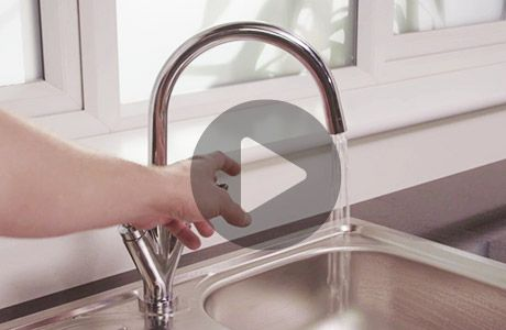 How to fit and remove a kitchen tap