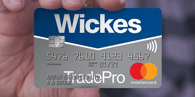 Becoming Wickes trade pro member