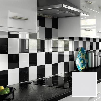 Black Gloss Tiles Wall Tile Design Ideas